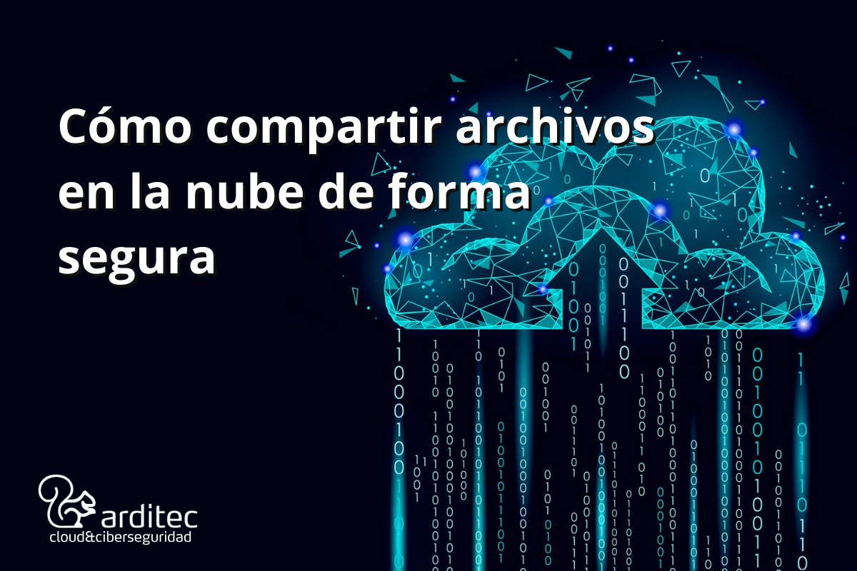 Compartir archivos en la nube