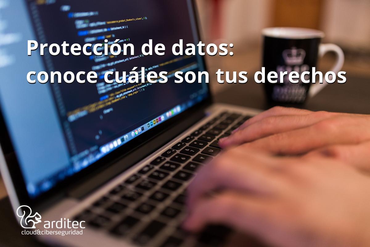 Protección de datos derechos